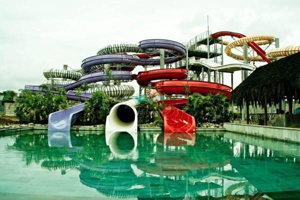 Bugis Water Park Makassar Daeng Becak Mks Kota
