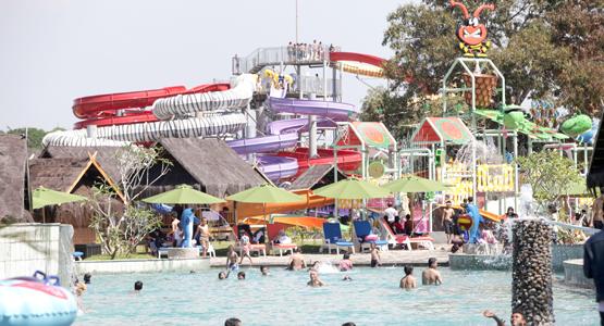 Bugis Water Park Makassar Dupetro Bukit Baruga Antang Taman Bermain