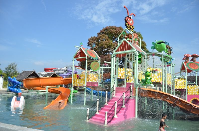 Bugis Waterpark Adventure Makassar Indonesia Water Park Kota