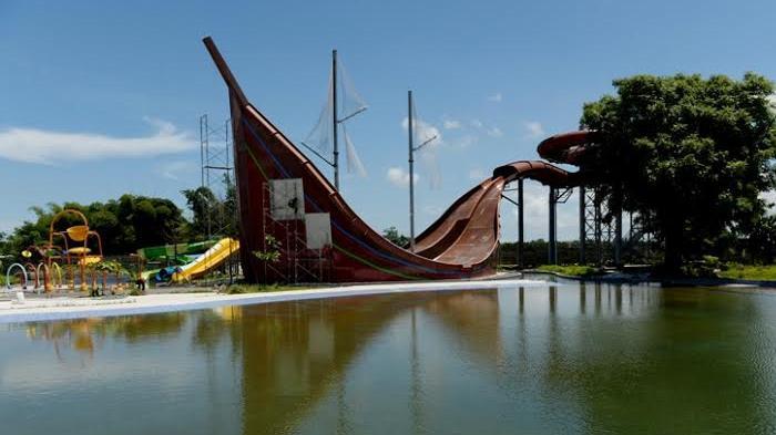 Bugis Waterpark Adventure Makassar Membuat Bilang Wow Masuk Water Park