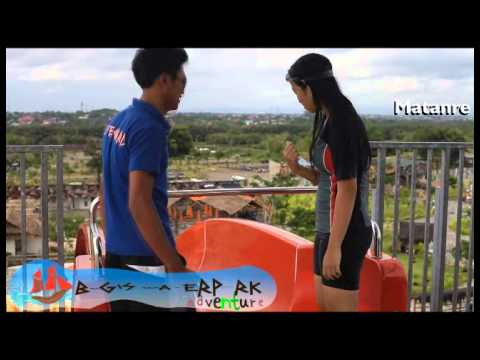 Bugis Waterpark Adventure Makassar Youtube Water Park Kota