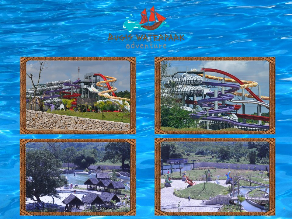 Bugis Waterpark Makasar Photo Water Park Kota Makassar