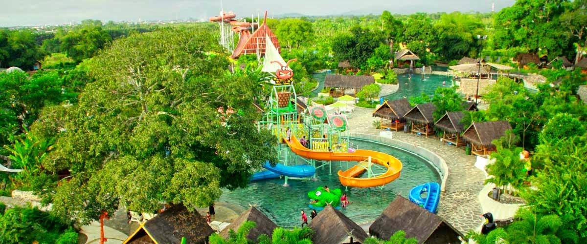Bugis Waterpark Makassar Sulawesi Selatan Tempat Rekreasi Wahana Permainan Air