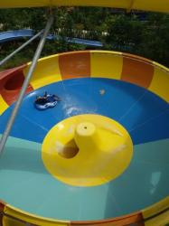 Bugis Waterpark Operasikan Dua Wahana Tribun Timur Water Park Kota