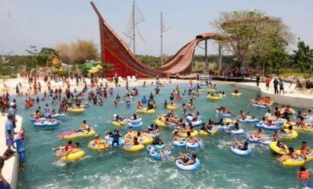 Harga Tiket Masuk Kolam Renang Bugis Waterpark Makassar Wisata Water