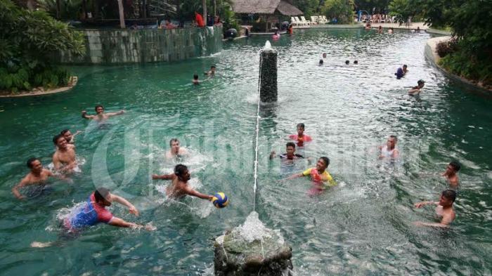 Lebaran Bugis Waterpark Buka Pukul 12 00 Wita Tribun Timur