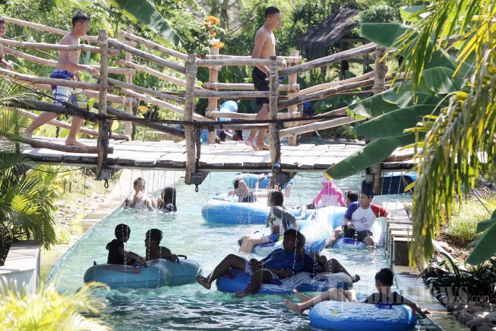 Liburan Lebaran Bugis Waterpark Foto 1 1262262 Tribunnews 20140801 181019