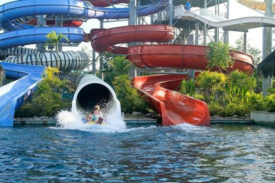 Locatioan Losari Beach Makassar Picture Bugis Waterpark Nice Water Park