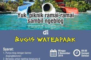 Ngeblog Tempat Asik Bugis Waterpark Makassar Org Mengajak Anggotanya Piknik