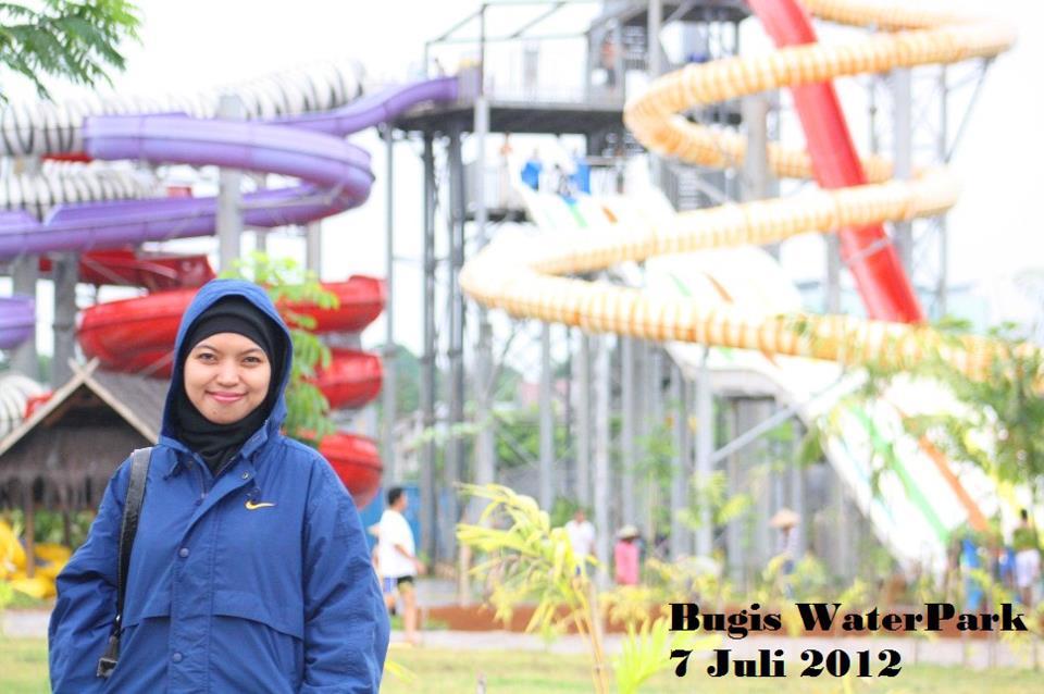 Objek Wisata Populer Makassar Salmah Sumayya Bugis Waterpark Salma Water