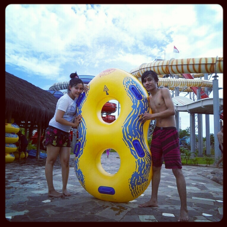 Reach Distant Future Bugis Waterpark Makassar 3 February 2013 Water