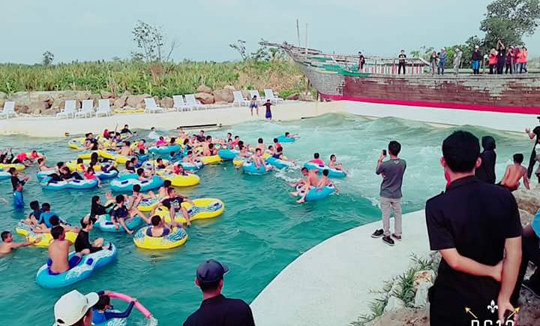 Wahana Bugis Water Park Kota Makassar