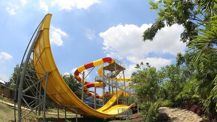 Wahana Menantang Bugis Waterpark Adventure Makassar Water Park Kota