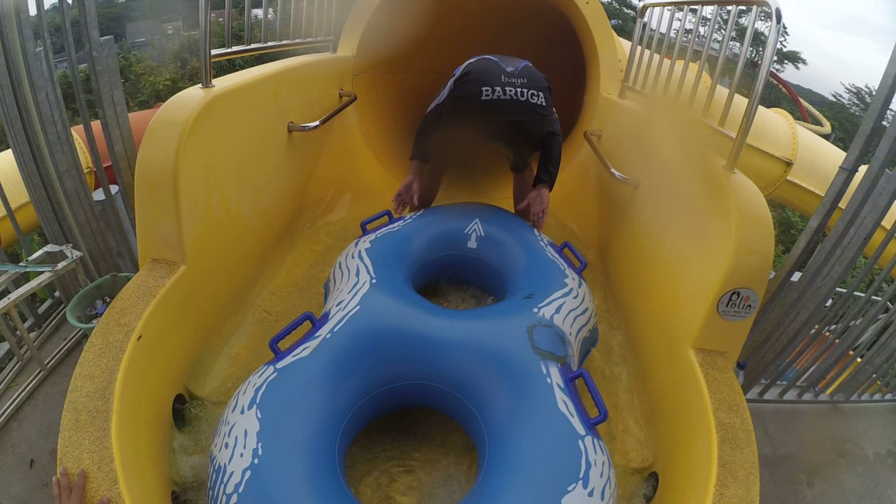 Wahana Space Boat Bugis Water Park Adventure Makassar Youtube Kota