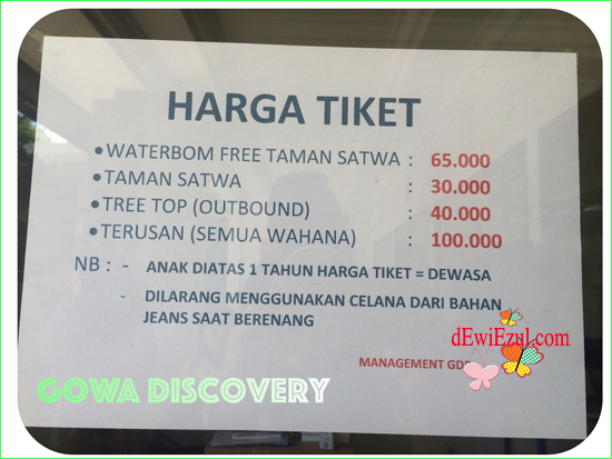 Dewie Enjoy Catata Htm Gowa Discovery Park Kota Makassar