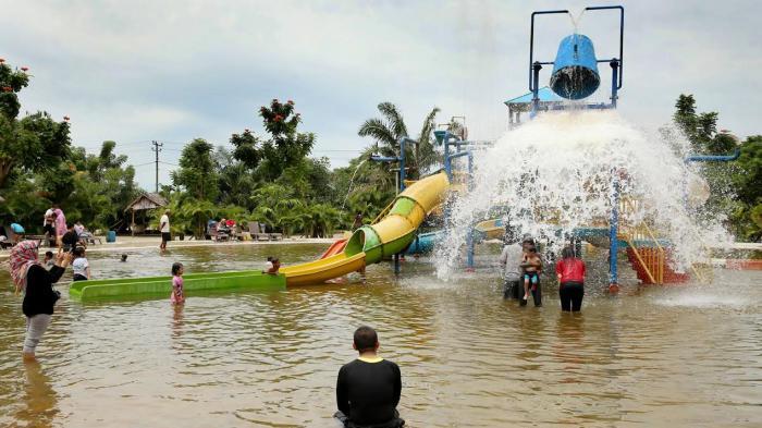 Foto Asiknya Liburan Gowa Discovery Park Tribun Timur Kota Makassar
