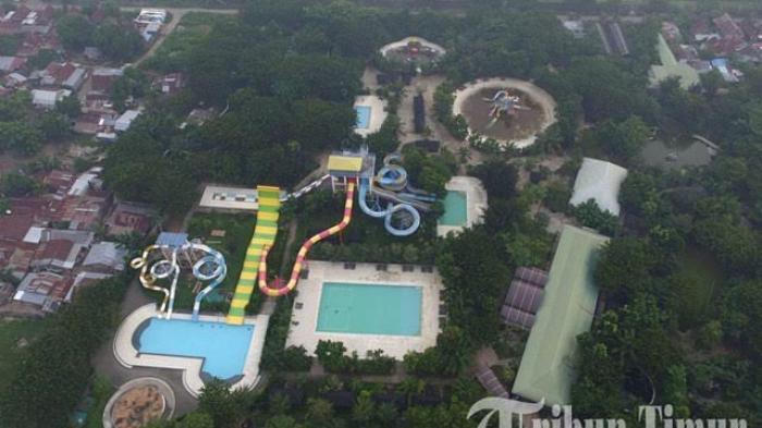 Foto Drone Wahana Gowa Discovery Park Makassar Tribun Timur Kota