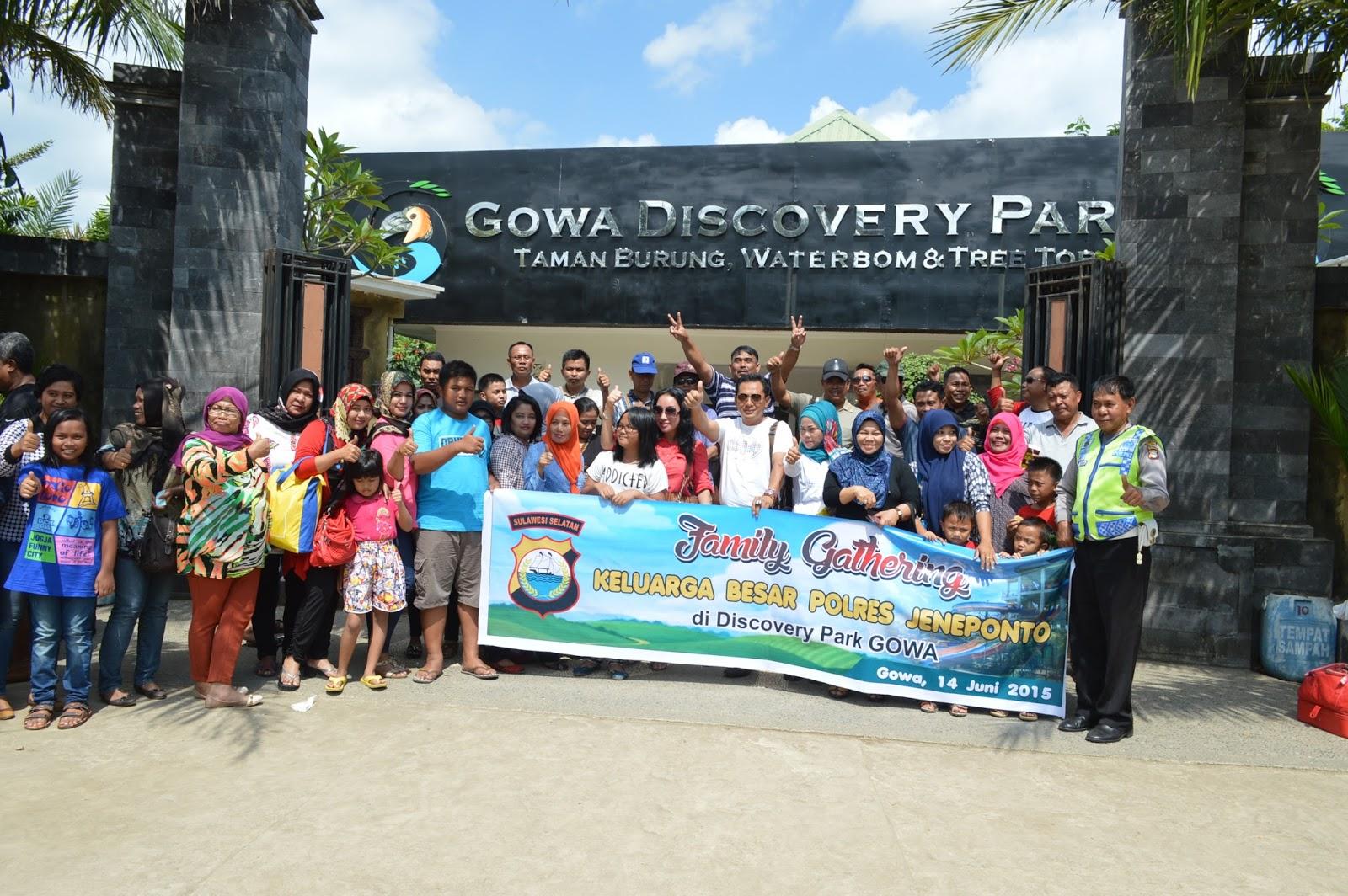 Satlantas Polres Jeneponto Wisata Makassar Gowa Discovery Park Baharudin Sh