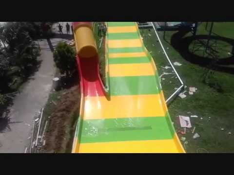 Waterboom Gowa Discovery Park Makassar Boomerang Tes 1 Youtube Kota