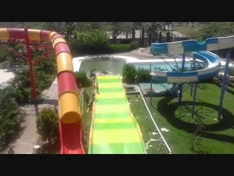 Waterboom Gowa Discovery Park Makassar Tes Boomerang 3 Youtube Kota