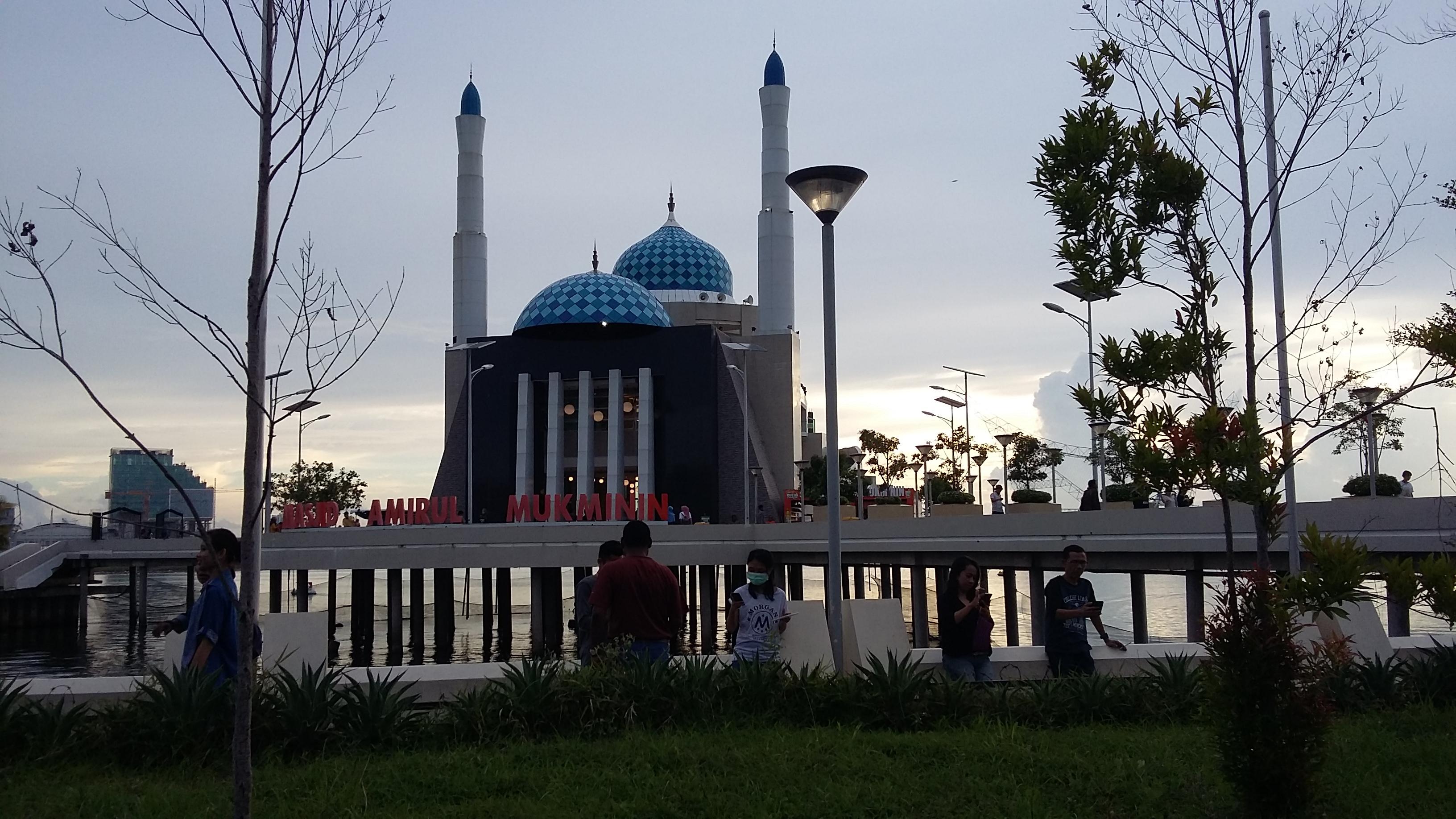 File Masjid Amirul Mukminin 4 Jpg Wikimedia Commons Kota Makassar