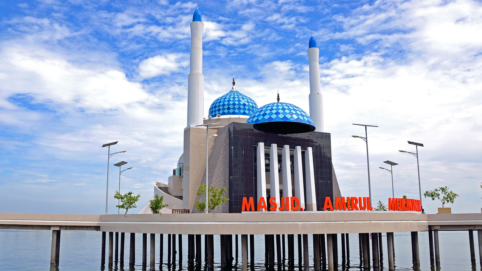 Losari Jangan Lupa Nikmati Sunset Masjid Apung Saliha 2017 09