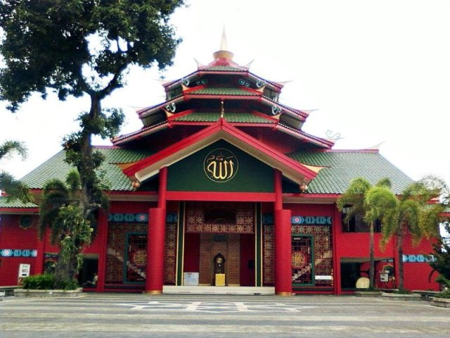 5 Masjid Cheng Ho Pulau Jawa Pandaan Foto Youtube Cahya