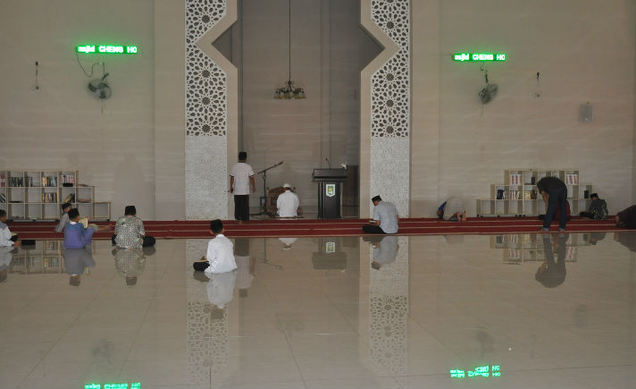 Berwisata Masjid Cheng Hoo Makassar Area Bagian Muhammad Kota