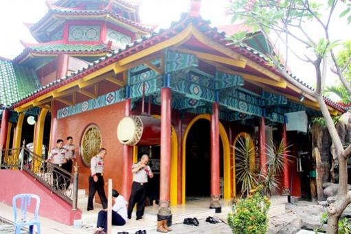 Cheng Ho Mosque Symbol Peace Destinations Jakarta Post Masjid Muhammad