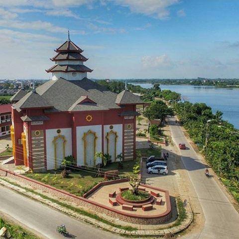 Destinasi Wisata Kota Makassar Sulawesi Selatan Guide Masjid Muhammad Cheng