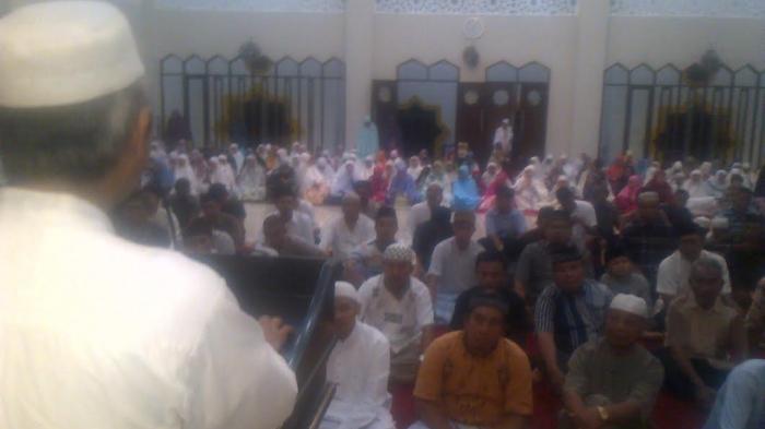 Imam Palestina Hadir Masjid Cheng Hoo Makassar Tribun Timur Umat