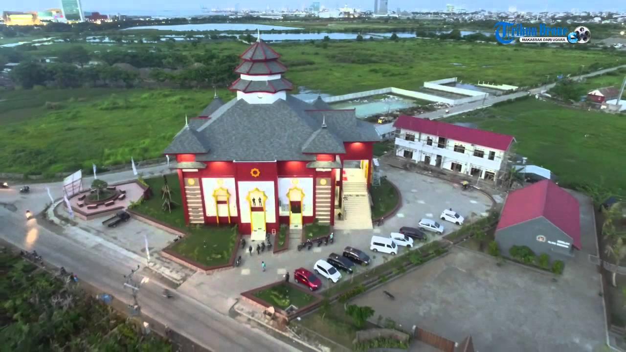 Indahnya Arsitektur Masjid Cheng Hoo Tanjung Bunga Youtube Muhammad Kota