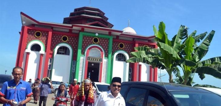 Masjid Cheng Ho Gowa Serasa Salat Negeri Cina Berita Pilihan