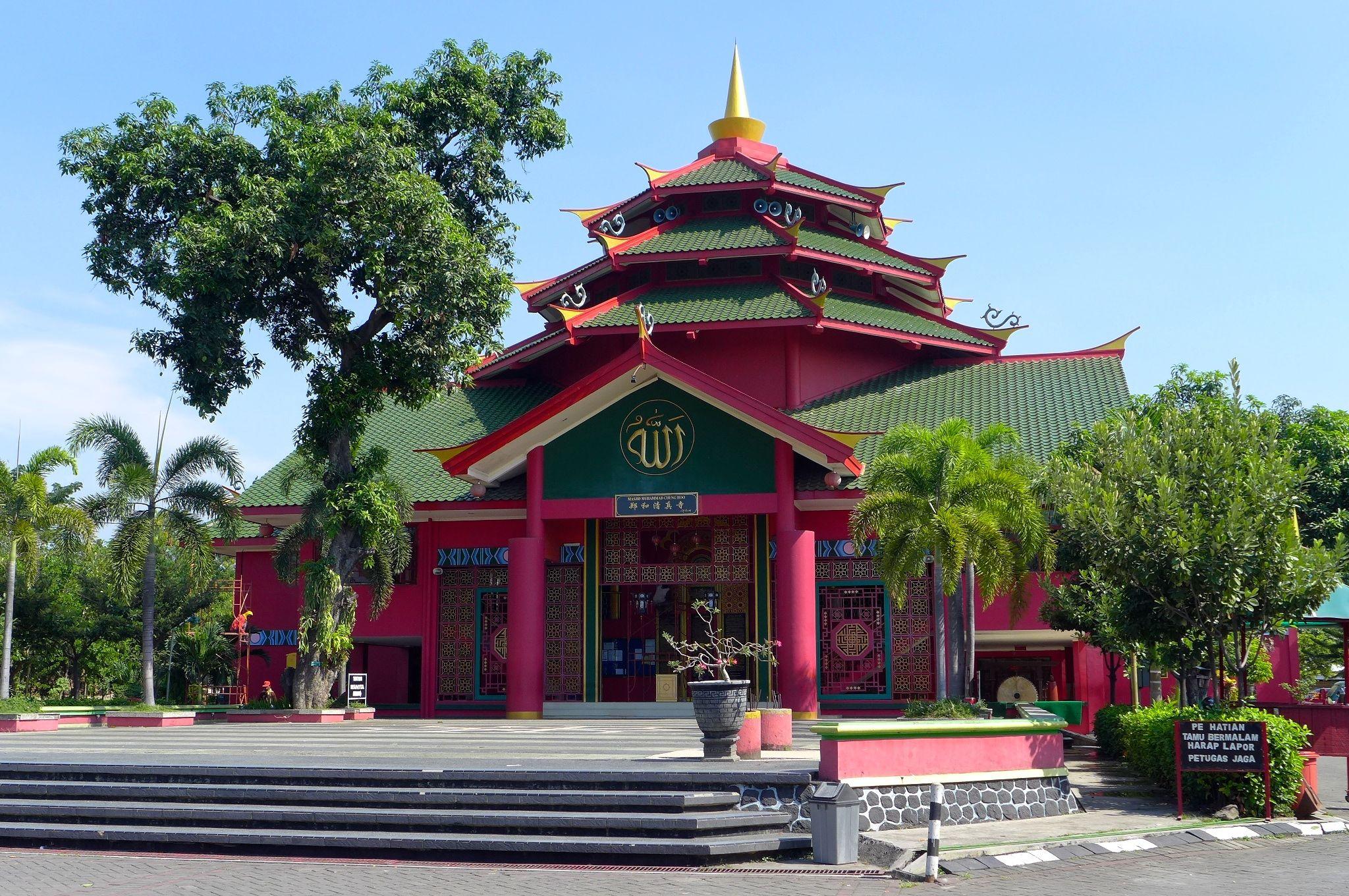 Masjid Cheng Ho Pandaan East Java Indonesia Pinterest Muhammad Hoo