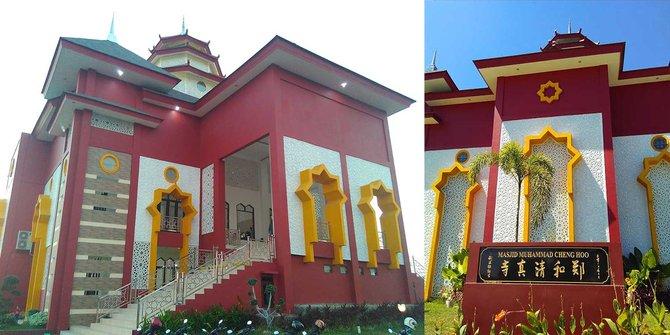 Melihat Megah Cantiknya Masjid Ceng Hoo Makassar Merdeka Muhammad Cheng