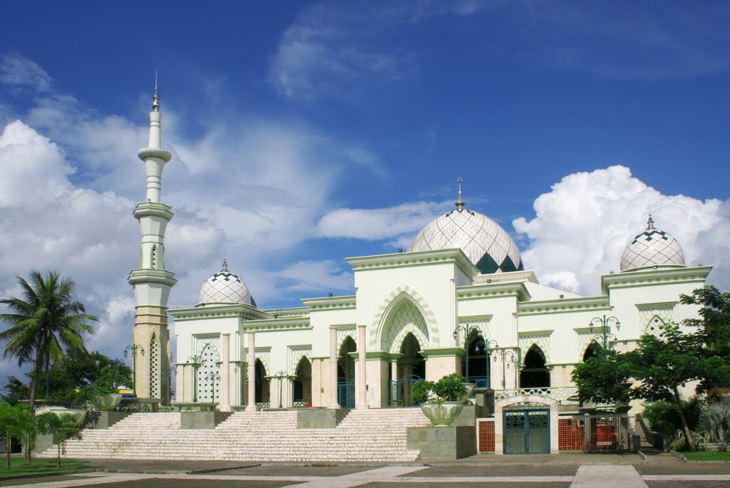 Berkas Masjid Raya Makassar Depan Jpg Wikipedia Bahasa Indonesia Kota