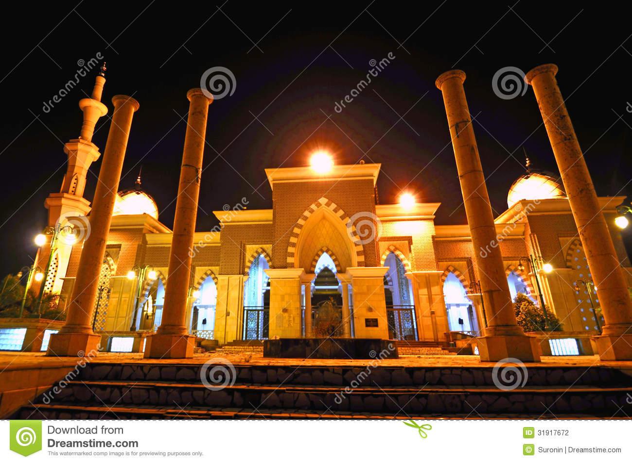 Masjid Raya Makassar Stock Photo Image Indonesia Kota