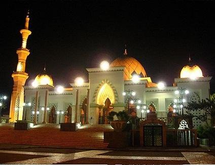 Wisata Makassar Masjid Raya Kota