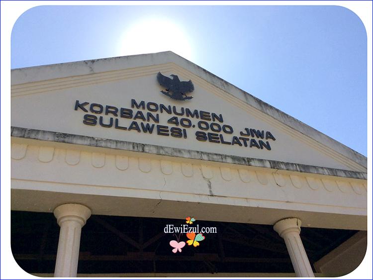 Dewie Enjoy Catata Monumen Korban 40 000 Westerling 40000 Jiwa