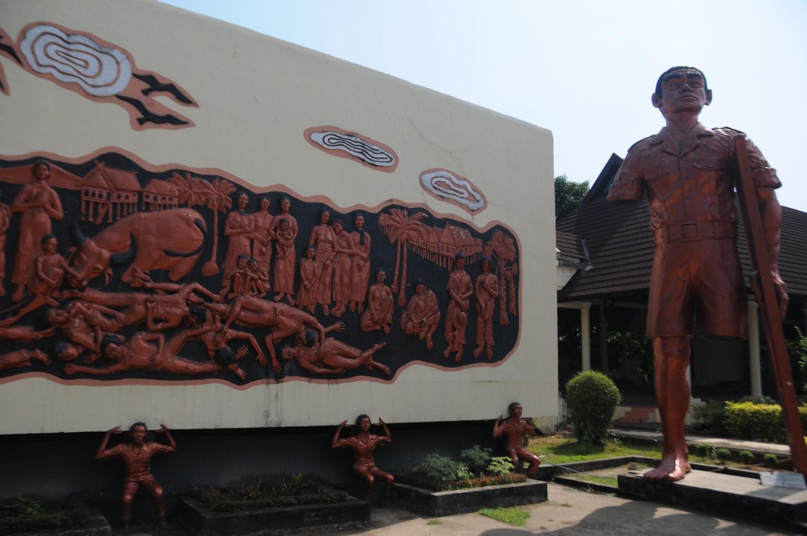 Eko Rusdianto Penembak Monumen Korban 40 000 Jiwa Kampung Kalukuang