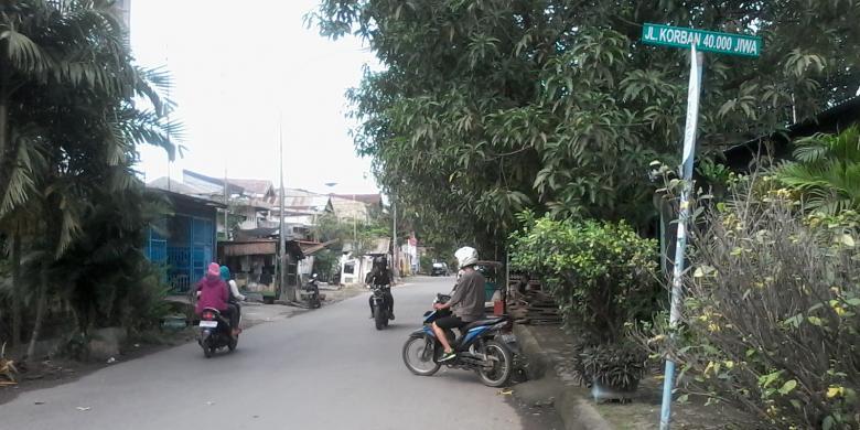 Jalan Dinamai Korban 40 000 Jiwa Kompas Kontributor Makassar Monumen