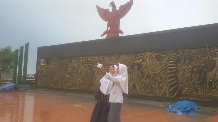 Monumen 40 Ribu Jiwa Spot Foto Favorit Pelajar Bulukumba Tribun