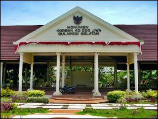 Monumen Korban 40 000 Jiwa Wisata Sejarah Sulawesi 40000 Kota