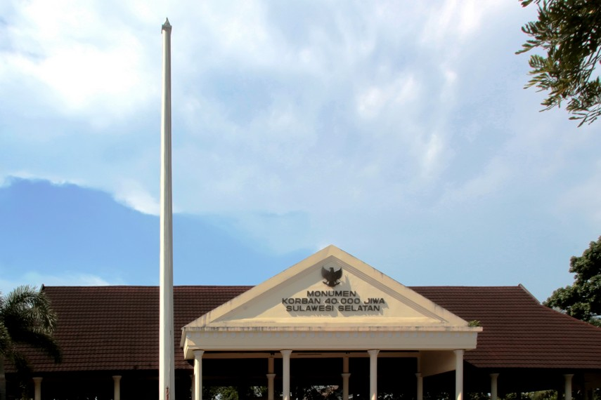 Sejenak Mengenang Kekejaman Raymond Westerling Indonesiakaya Sulawesi Selatan Monumen Korban