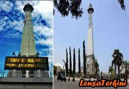 8 Monumen Bersejarah Indonesia Lensaterkini Mandala Berada Jl Jenderal Sudirman
