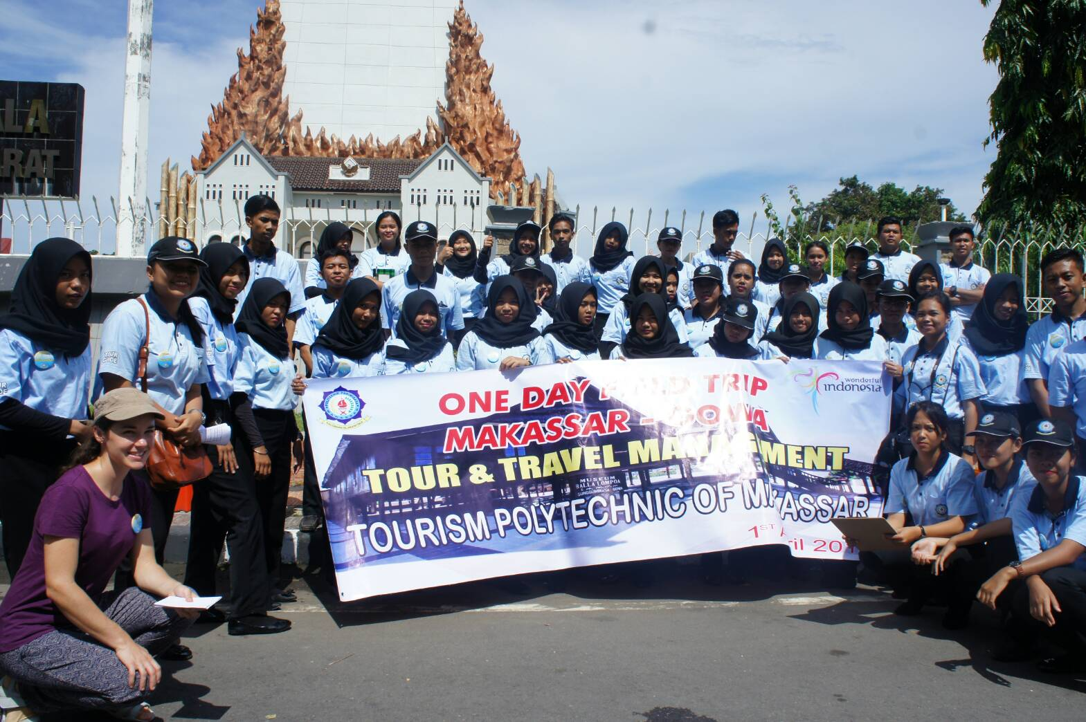 Day Field Trip Makassar Gowa Monumen Mandala Weeldameisti Kala Ditetapkan