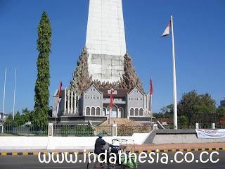 Indahnya Indonesia Monumen Mandala Lambang Pembebasan Irian Barat Terdapat Kota