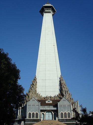 Monumen Mandala Bangun Buat Lupakan Pembebasan Irian Barat Kota Makassar