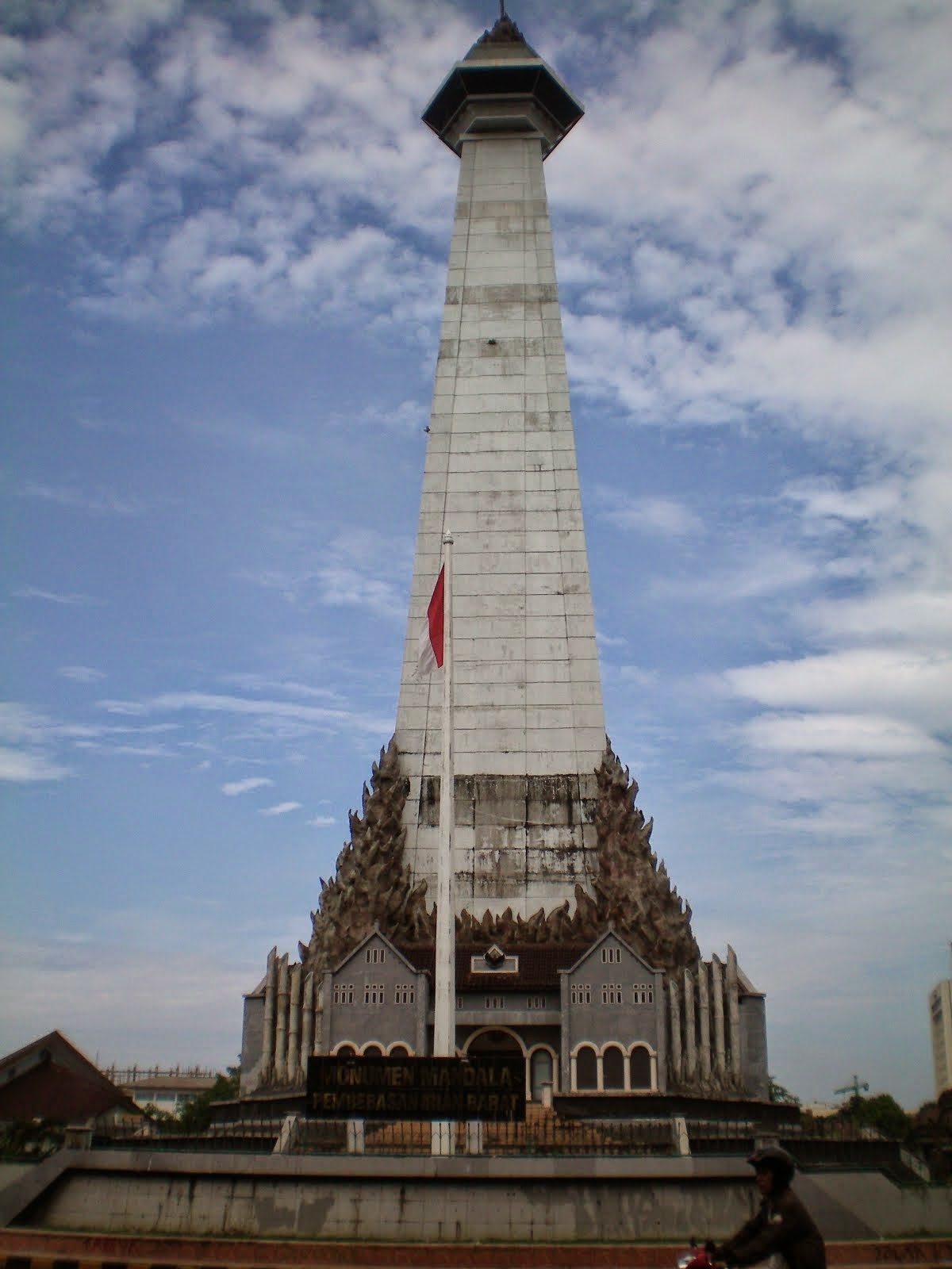Monumen Mandala Bukti Monumental Pembebasan Irian Barat Makassar Kota