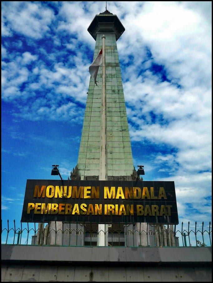 Monumen Mandala Kenangan Indah Bagi Pak Harto Panduan Wisata Pembebasan
